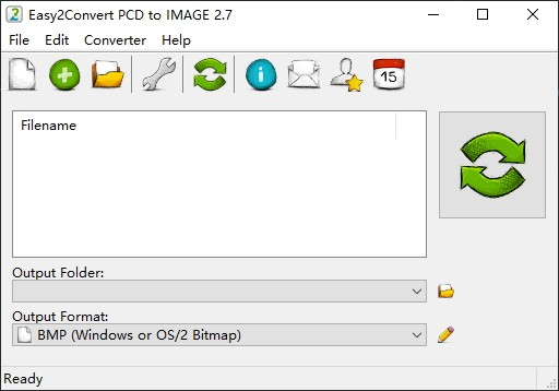 Easy2Convert PCD to IMAGE软件截图