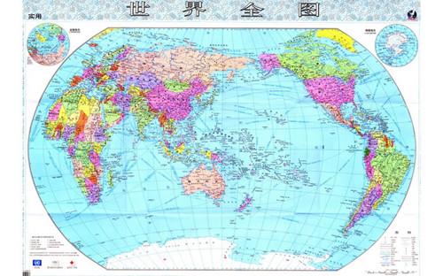 世界地图中文版 title=
