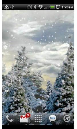 下雪动态壁纸