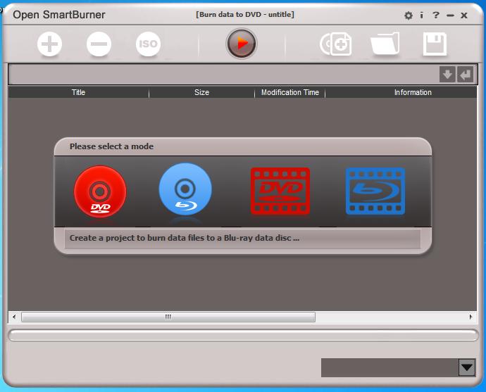 Open SmartBurner1.60 破解版