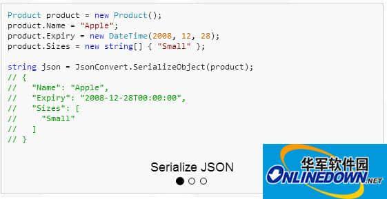 Json.Net(Newtonsoft.Json) 10.0.3 官方最新版