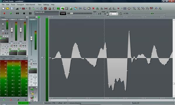 多轨录音软件和音频编辑工具(FASoft n-Track Studio)