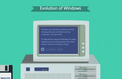 Windows演变开机动画